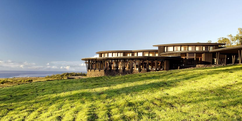 Hotel de lujo en Rapa Nui