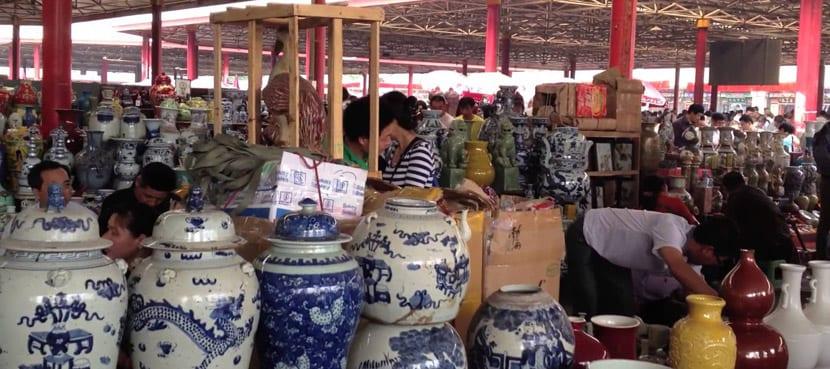 Mercado de muebles antiguos