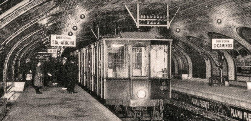 Metro de Madrid antiguo