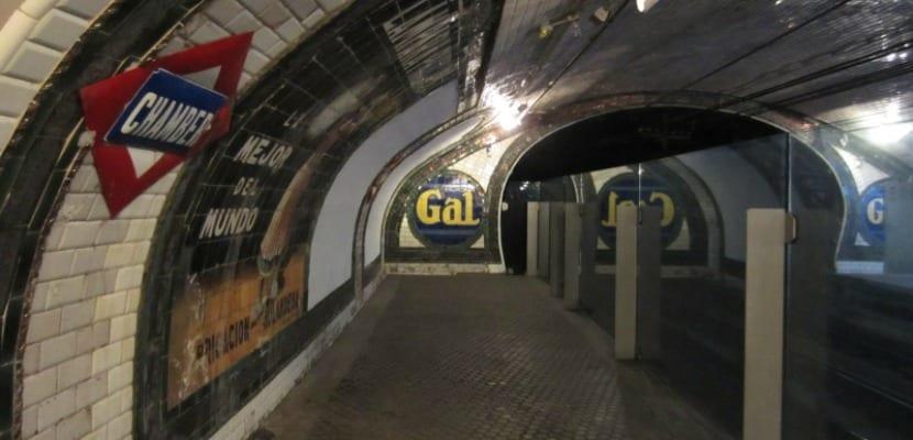 estacion fantasma metro madrid