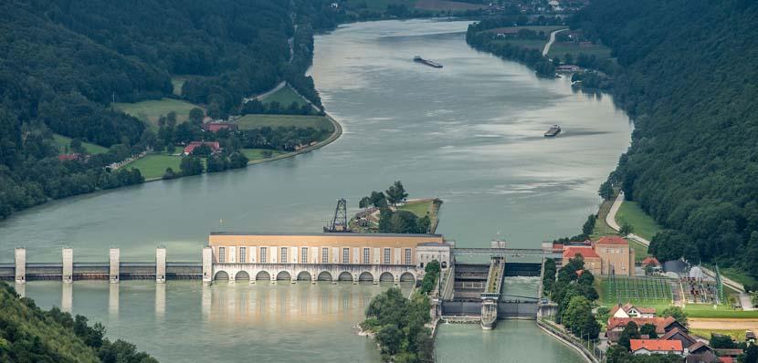 Navegación por el río Danubio