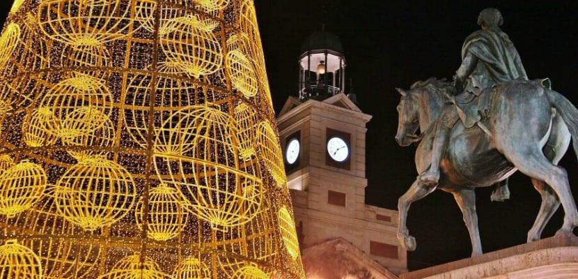 Navidad Madrid Sol