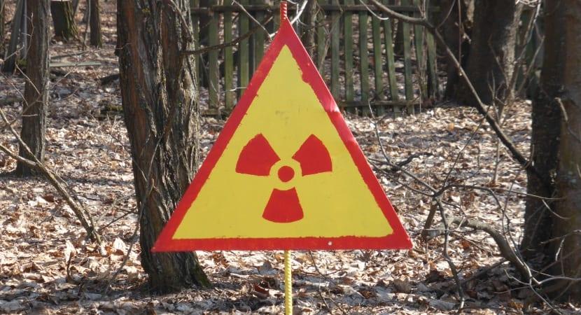 Chernóbil señal nuclear