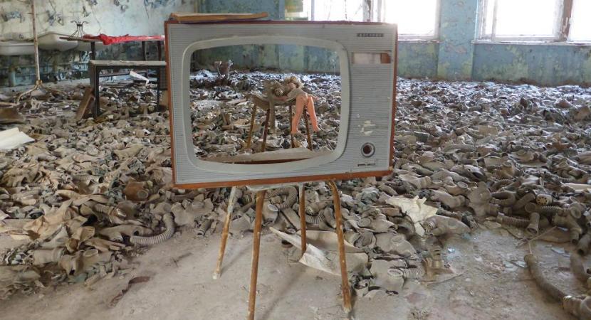 Guardería de la zona de exclusión Chernóbil
