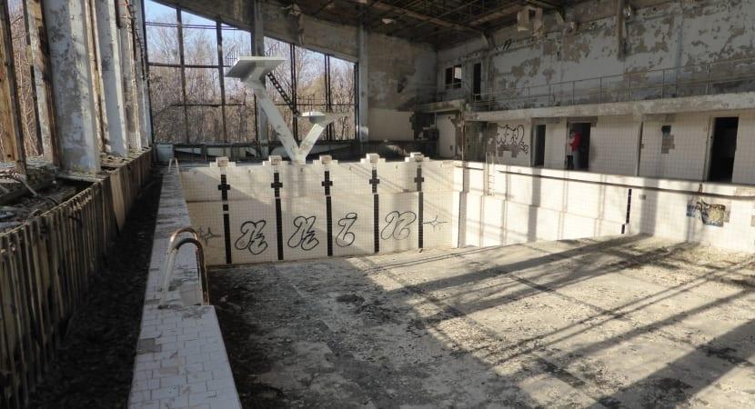piscina de Chernóbil