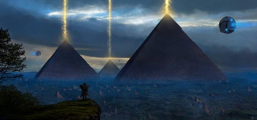 Pirámides y aliens