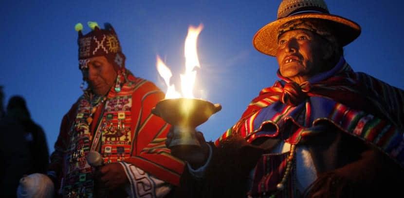 Solsticios en Tiahuanaco