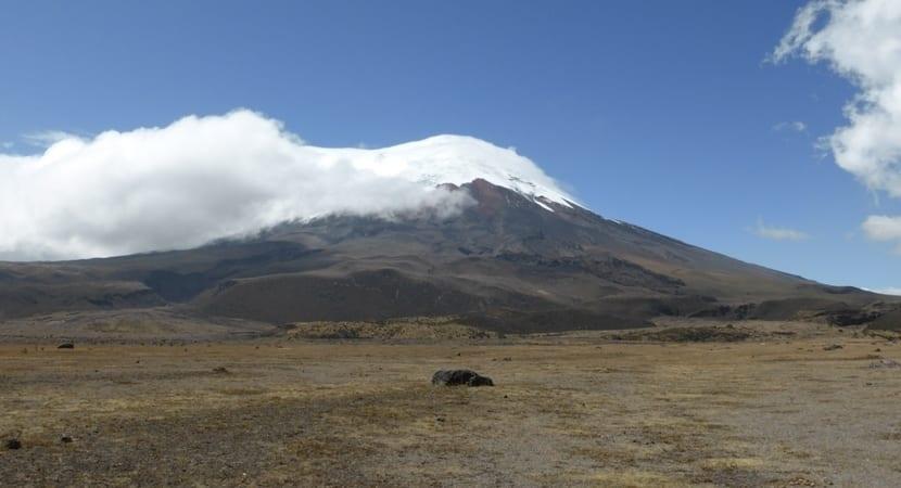 volcan cotopaxi, Ecuador