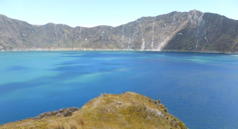 El Quilotoa volcán ecuador lago