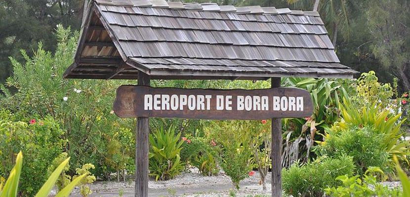 Bora Bora aeropuerto