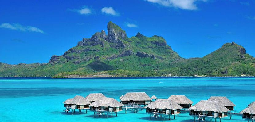 Cabañas en Bora Bora