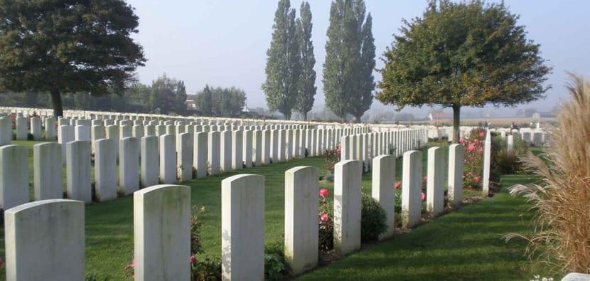 Campos de batalla en Flandes