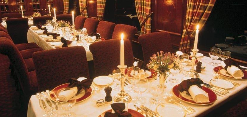 Cenas en el tren Belmond