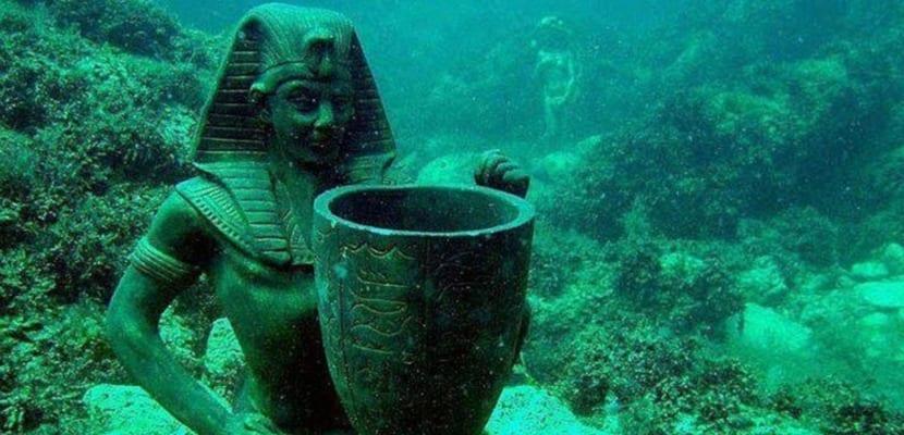 Egipto ciudad sumergida