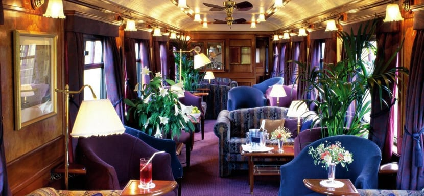 Comedor del Belmond Royal Scotsman