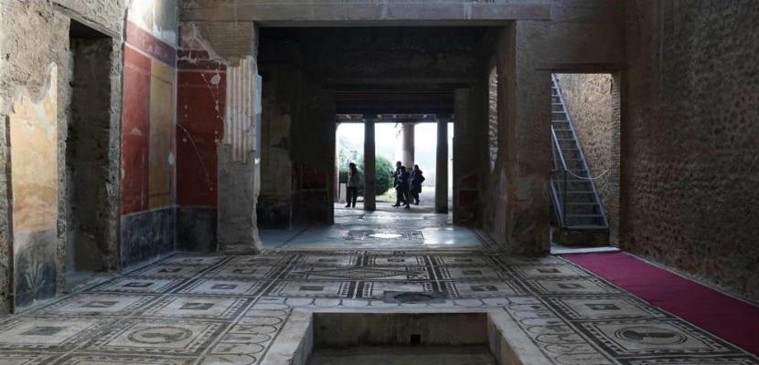 Domus reconstruida Pompeya