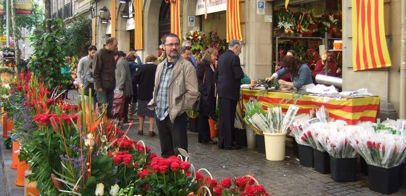 Florerías en Las Ramblas