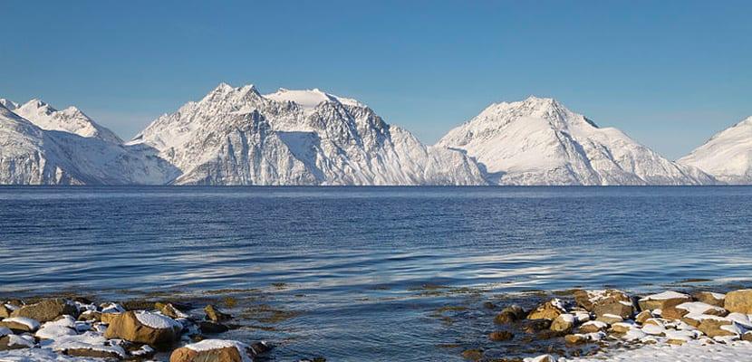Invierno en Noruega