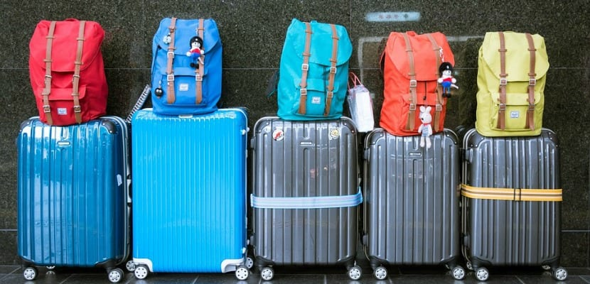 equipaje viajes