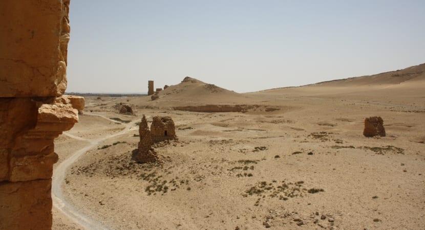 Palmyra Siria tumba