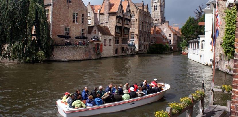 Paseos en bote en Brujas