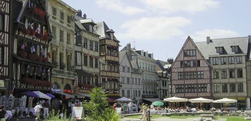 plaza viejo mercado ruan