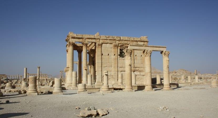 Palmyra Siria templo
