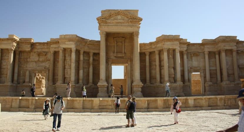 Palmyra Siria teatro