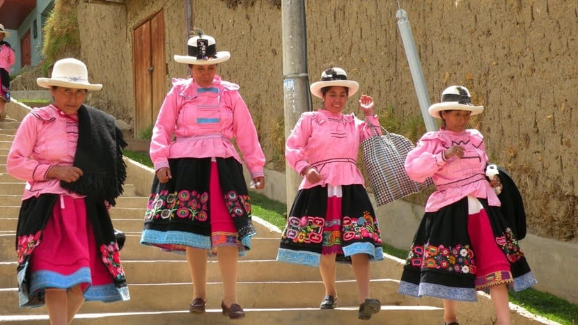 sombrero peruano Ancash