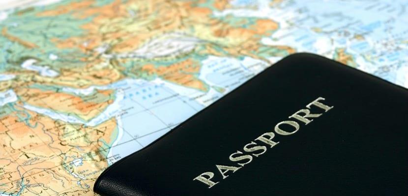 pasaporte viajes
