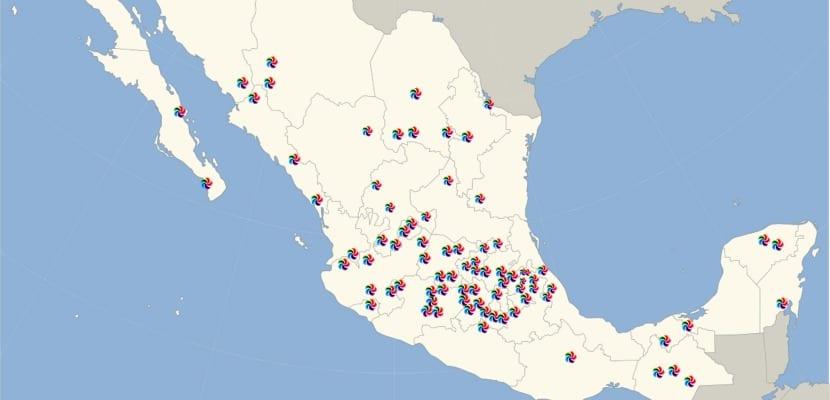 Mapa Pueblos Mágicos México