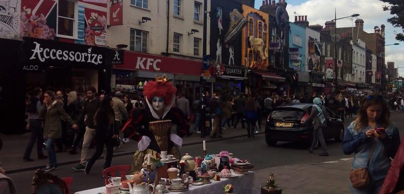 Cosas gratis Londres, Camden Town