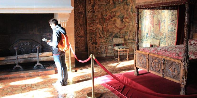 Interior del Castillo Chenonceau