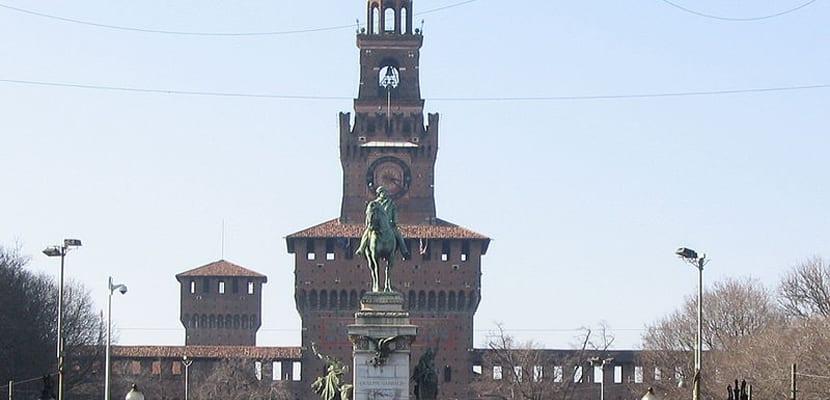 Milán Castillo Sforzesco