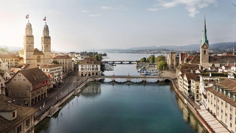 Las 10 ciudades de Europa con mayor calidad de vida - Zurich