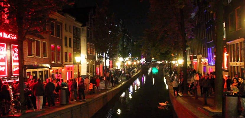 Barrio Rojo en Ámsterdam