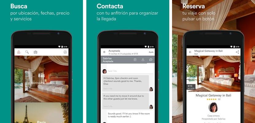 Apps para viajar, Airbnb