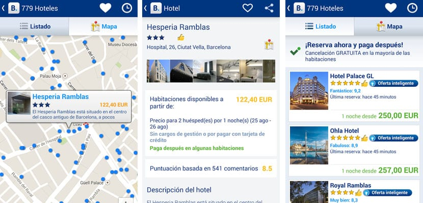 Apps para viajar, Booking