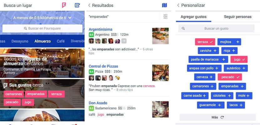Apps para viajar, Foursquare