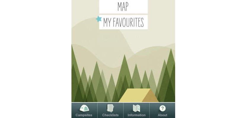 Apps para viajar, Ilovecamping