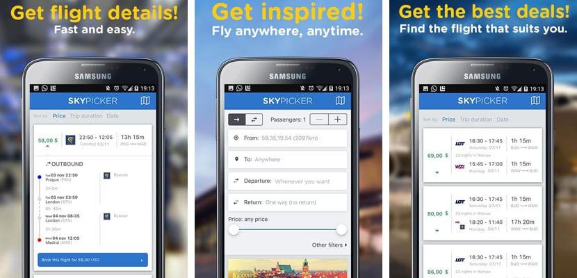 Apps para viajar, Skypicker