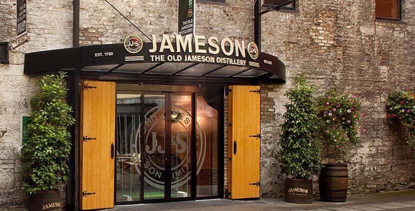 Destilería Old Jameson