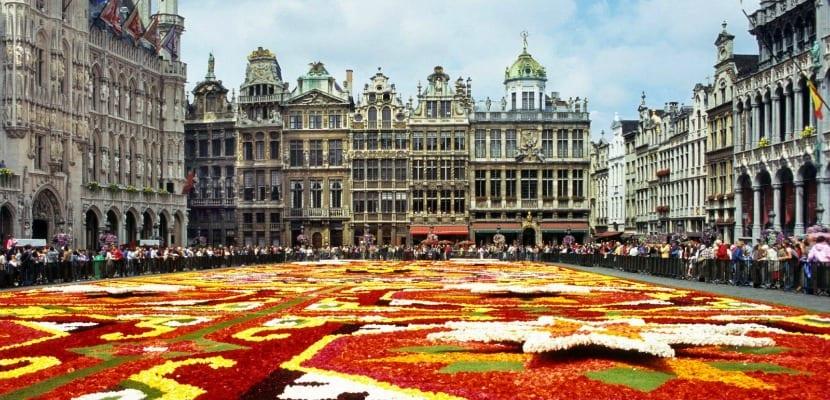 festival flores bruselas