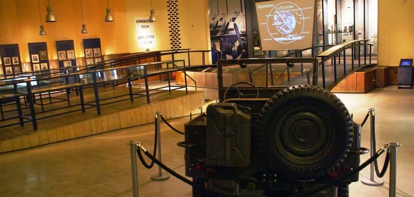 Interior del Museo de los Aliados
