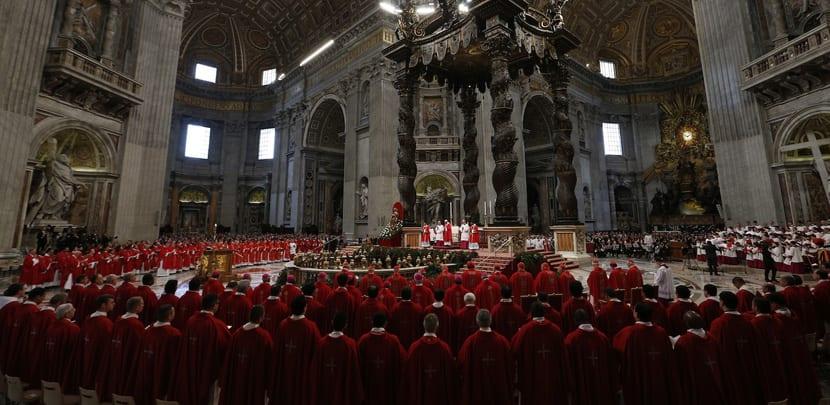 Misa en la Basílica de San Pedro