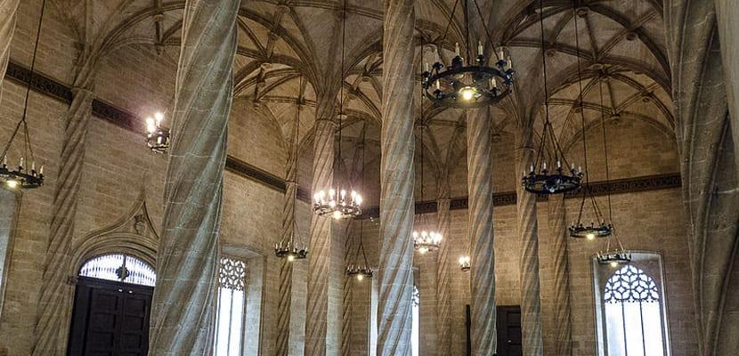 Lonja de la seda en Valencia