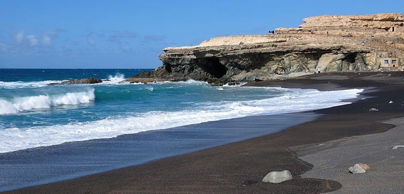 Playas de arena negra, Ajuy
