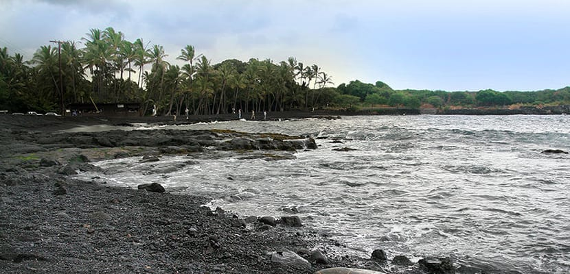 ^Playa de Punaluu