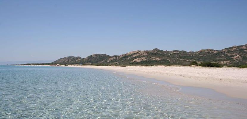 Playas de Cerdeña, Berchida