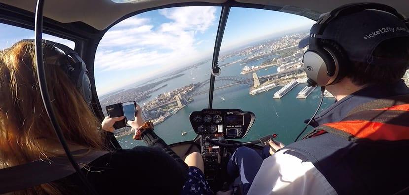 Vuelos en helicóptero sobre Sidney